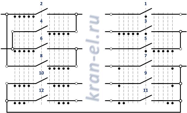 Схема контроллера ККТ-61А.