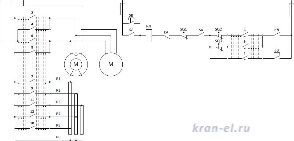 Схема контроллера ккт 61а