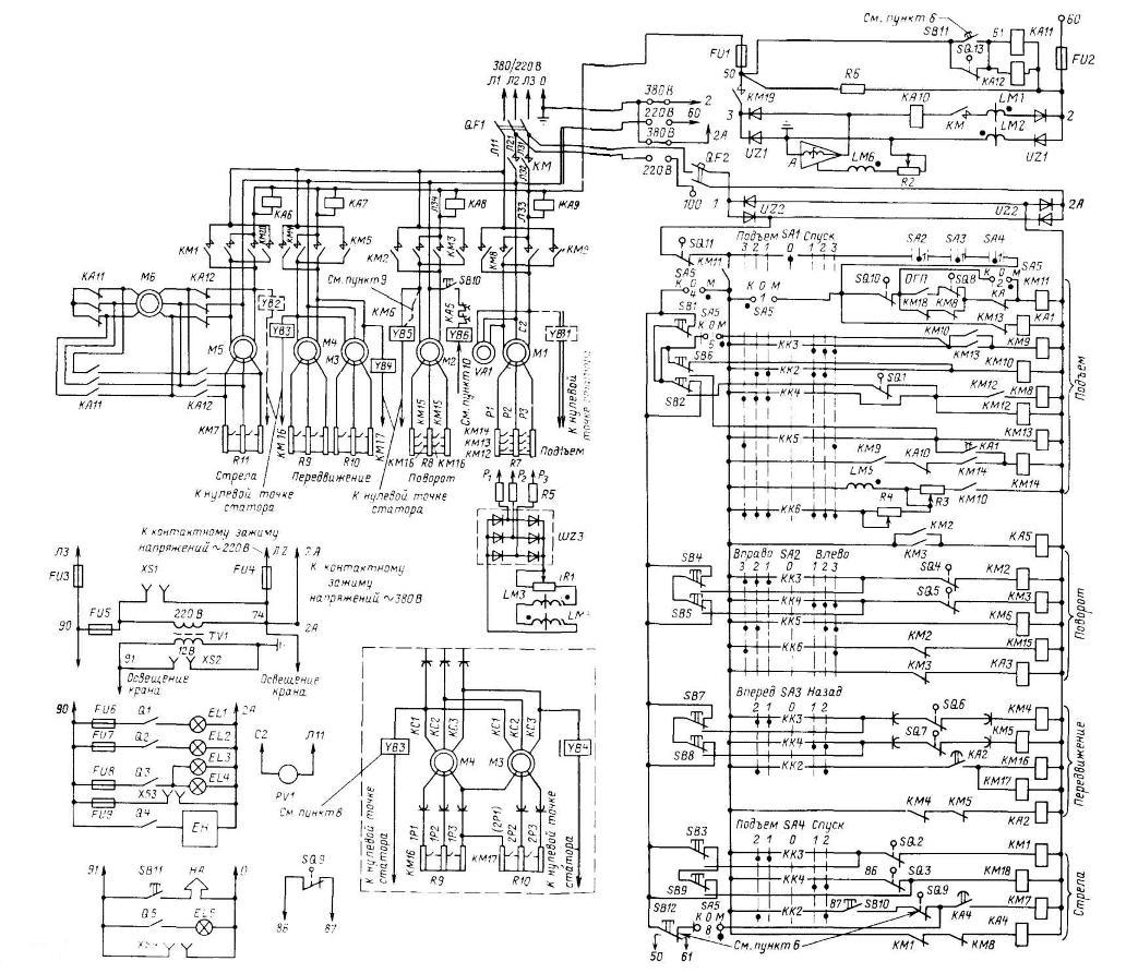электросхема рдк 25