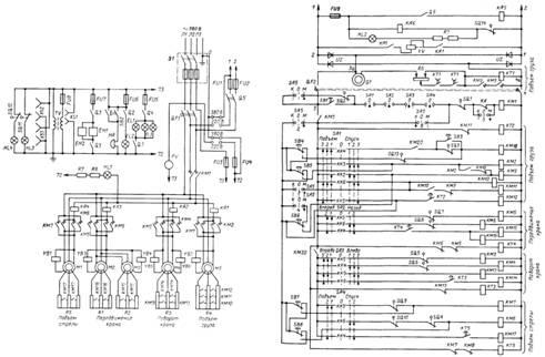 Схема крана электрическая мкг 25
