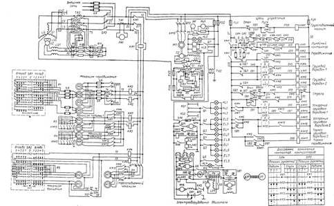 500 электрическая схема