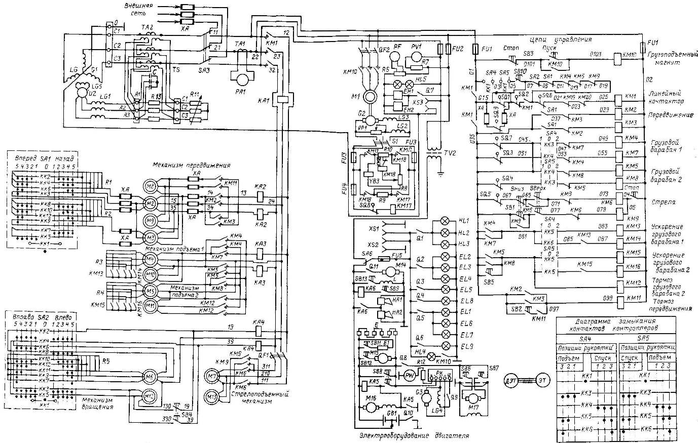 Схема электрическая принципиальная.